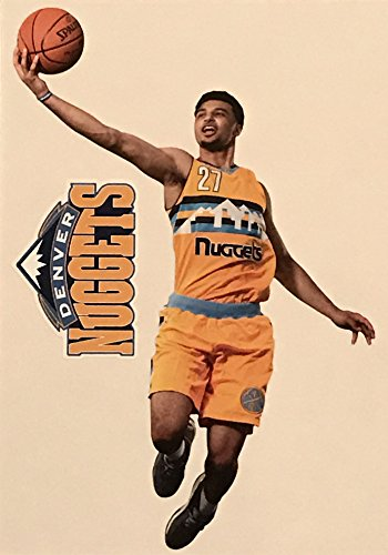 FATHEAD Jamal Murray Mini Graphic + Denver Nuggets Logo Official NBA Vinyl Wall Graphics 7