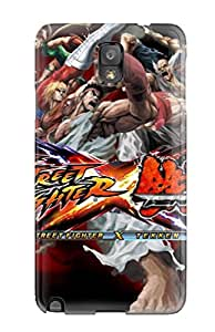 Emilia Moore's Shop Hot 1191452K30602731 Ideal JeremyRussellVargas Case Cover For Galaxy Note 3(street Fighter), Protective Stylish Case