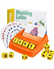 LZAQBB Matching Letter Game Learning Toys - for 3-8 Boys Girls Educational Toys
