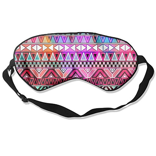(Lead-Do Bright Aztec Comfortable Sleeping Masks Blindfold Eye Shade Cover,Super-Smooth)