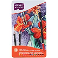 DERWENT(R) 2301937 COLOURED PENCILS, PK12 TIN