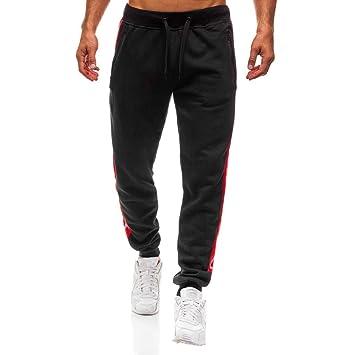 Warmpty Hombre Deporte Pantalones De Chandal Entrenamiento Gym ...