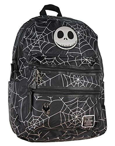 Nightmare Before Christmas Spider Web Travel School Laptop Backpack (Best Laptops For Christmas)