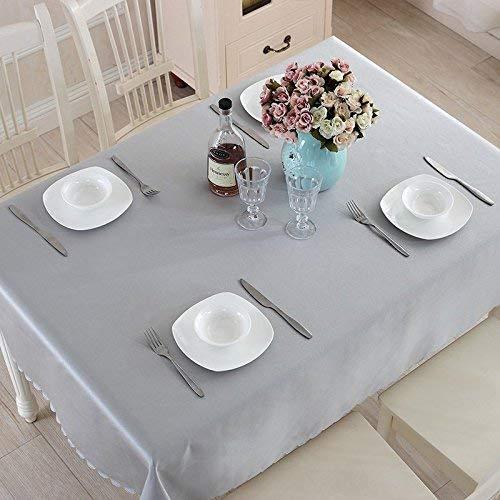 Shuangdeng テーブルクロスティーテーブルクロスソリッド長方形のテーブルクロスコーヒーテーブルクロスレストランテーブルクロス (Color : A1, サイズ : 150*300cm) 150*300cm A1 B07SBSHVMN