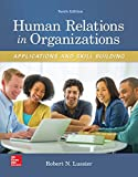 Human Relations in Organizations 10th Edition