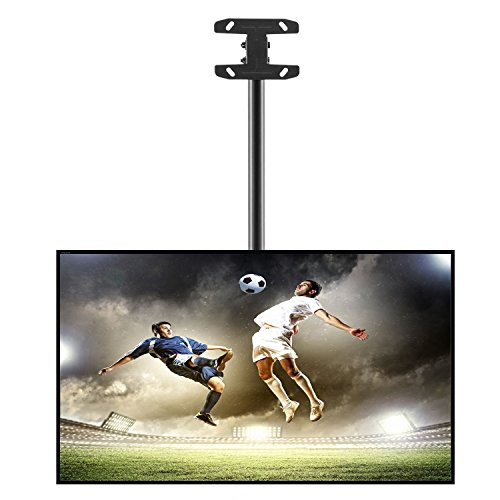 "Happyjoy TV Ceiling Mount Adjustable Fits most 26-55"" LCD LE"