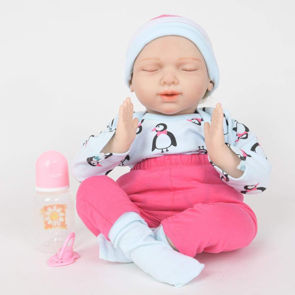 Promoción por tiempo limitado Hongge Reborn Baby Doll,Realista Renacida muñeca Juguete Realista recién muñecas Mejor 50cm
