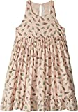 Stella McCartney Kids Baby Girl's Pip Sleeveless All Over Ice Cream Print Dress (Toddler/Little Kids/Big Kids) Pink 10