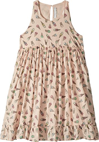 Stella McCartney Kids Baby Girl's Pip Sleeveless All Over Ice Cream Print Dress (Toddler/Little Kids/Big Kids) Pink 10 by Stella McCartney Kids