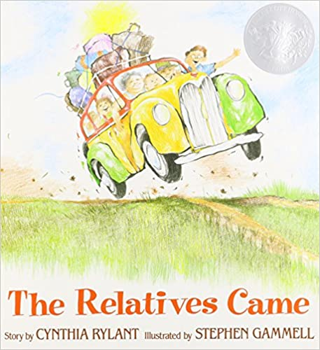 The book The Relatives Came by Cynthia Rylant illustrates how a writer can take a broad idea and expand it into a full story