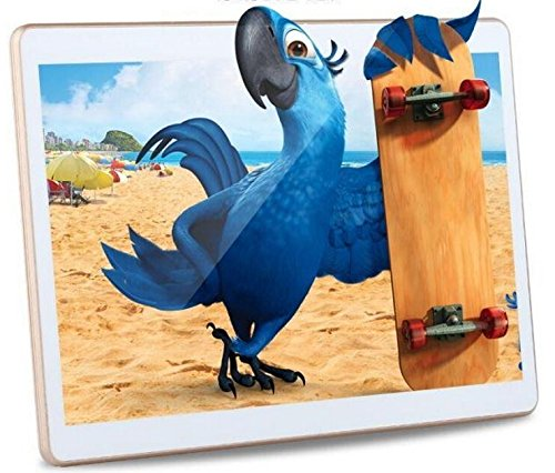 10.6 inch 4GB RAM 32GB ROM MTK6592 Octa Core HD 2560x1600 IPS screen CPU 2. 0 GHZ Dual Camera 13.0MP+5.0MP 4G network call GPS Bluetooth 8800mAH Battery7 Tablet PC White -  Huayang