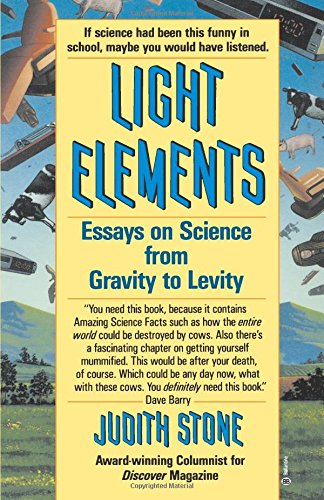 elements essay from gravity in levity light science The why of newton's gravity was answered with this new understanding that mass curves spacetime, objects travel on geodesics and the speed of light is the same in to any observer (among other things.