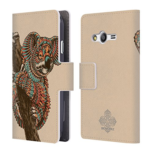 official-bioworkz-ornate-koala-coloured-wildlife-1-leather-book-wallet-case-cover-for-samsung-galaxy