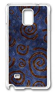Adorable Blue Red Rotation Spiral Hard Case Protective Shell Cell Phone Case For iphone 5s Cover - PC Transparent