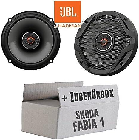 JUST SOUND best choice for caraudio Einbauset f/ür Skoda Roomster Front Heck Lautsprecher Boxen Kenwood KFC-S1756-16cm Koax Auto Einbauzubeh/ör