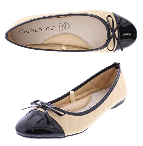 Quilted Ballet Flats Shoes - 5