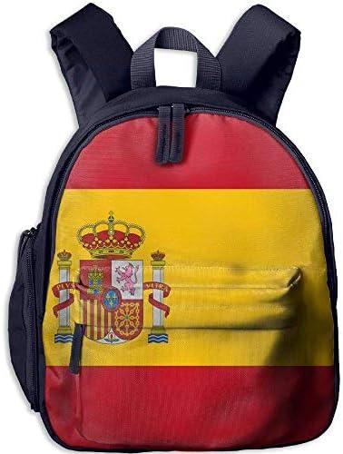 dfdsf Mochila Escolar para niños Mochila para Estudiantes de Viaje Mochila con impresión 3D de la Bandera de España para niña: Amazon.es: Equipaje