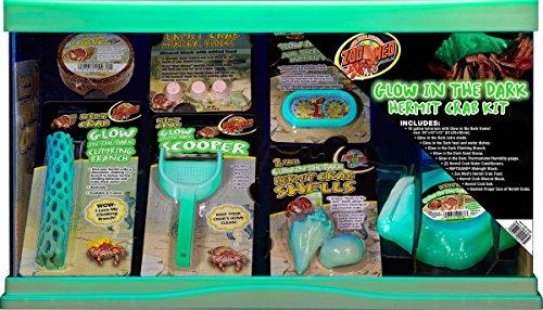 Zoo Med 78087 Reptihabitat Hermit Crab Kit, 10 gallon by Zoo Med