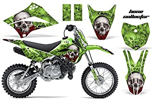 Amazon.com: Kawasaki KLX110L 2010-2018 MX Dirt Bike Graphic Kit ...
