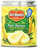 Del Monte Pear Halves, 8.5-Ounce Packages (Pack of 12)