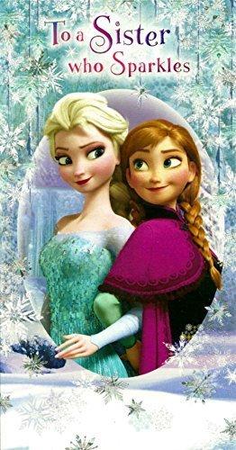 Amazon Disney Frozen Elsa Amp Anna Sister Birthday Card