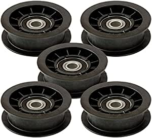 Murray 5 Pack 421409MA Backside Idler Pulley with Approx. 3-3/8-Inch Outside Diameter