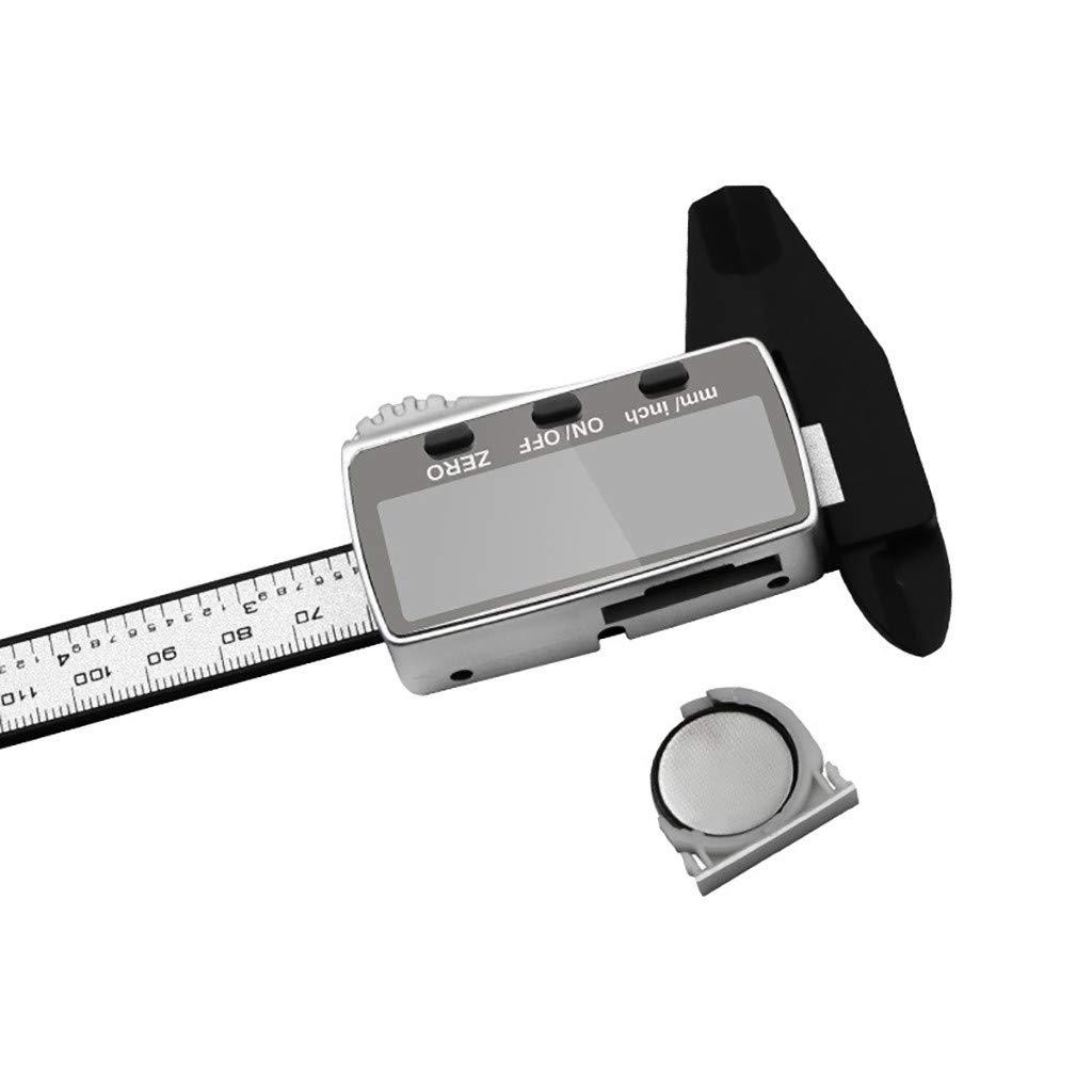 calibro elettronico ufficio Calibro digitale da 150 mm in acciaio inox scuola strumento di misurazione per bambini micrometro a corsoio