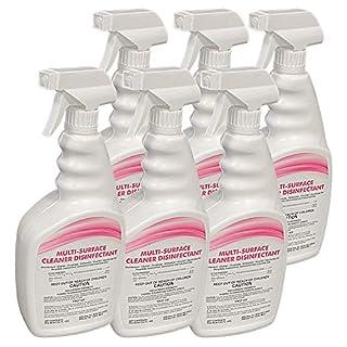 T-Rex Multi-Surface Disinfectant Spray Cleaner, 32 Fl. Oz. Spray (6-Pack)
