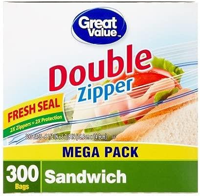 Gran valor doble Pinch & Seal cremallera bolsas de ...