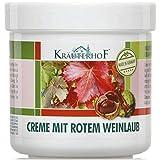 KrauterhoF Foot Cream for Varicose Veins with horse chestnut and red vine leaves by Krauterhof