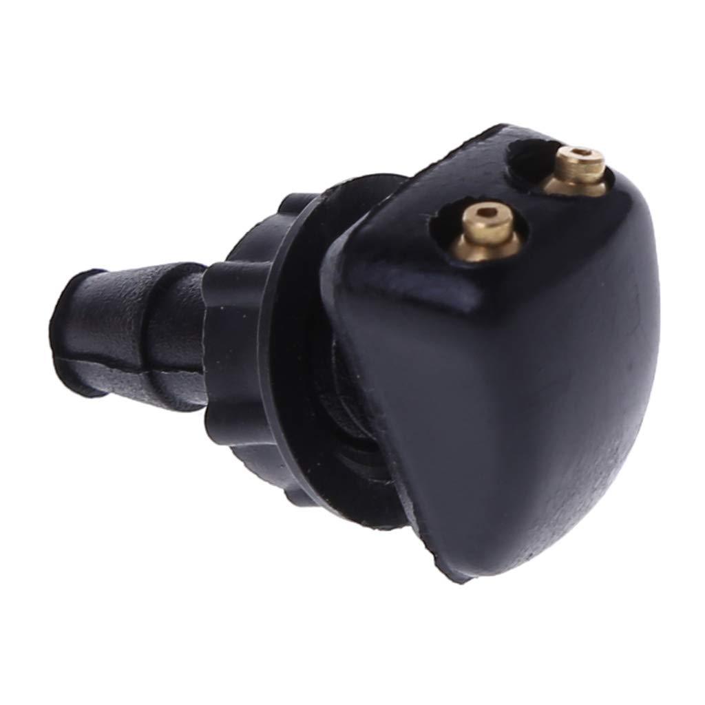 2 boquillas de pulverizaci/ón universal para coche con arandelas de limpiaparabrisas para limpiaparabrisas de coche