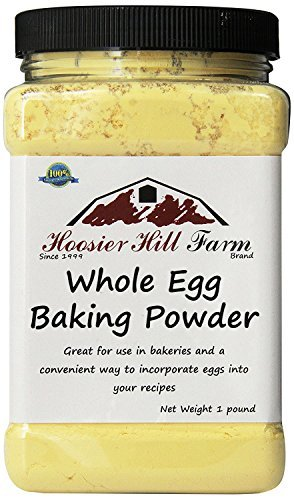 Hoosier Hill Farm Whole Egg Baking Powder, 1 Pound by Hoosier Hill Farm