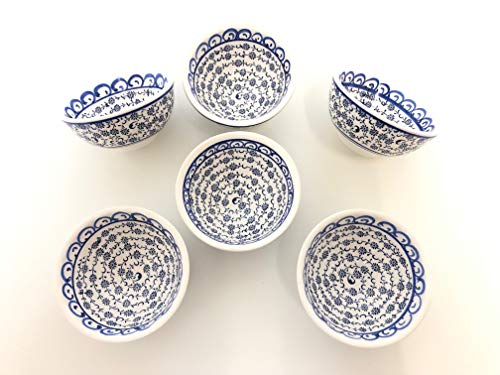 Handmade Ceramic Dipping Set of Six (Golden Horn) ()