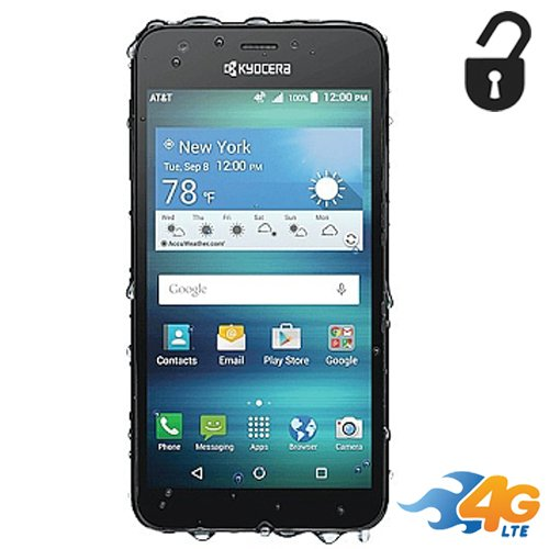 (Kyocera Hydro Air 4G LTE Unlocked GSM 8GB Waterproof Lcd 5.0 5mp Flash Camera)