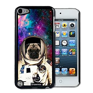 IPod 5 Touch Case Thinshell Case Protective IPod 5G Touch Case Shawnex Astranout Space Hipster Pug