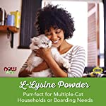 NOW Pet Health, L-Lysine Supplement, Powder, Formulated for Cats, NASC Certified, 8-Ounce 10