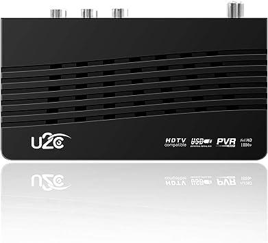 Yanhonin Receptores de TDT - Smart TV DVB-T2 115 Mini Full HD Digital TV Set Superior Box, Interface Tipo USB AV HDMI WiFi resolución 1920 * 1080: Amazon.es: Bricolaje y herramientas
