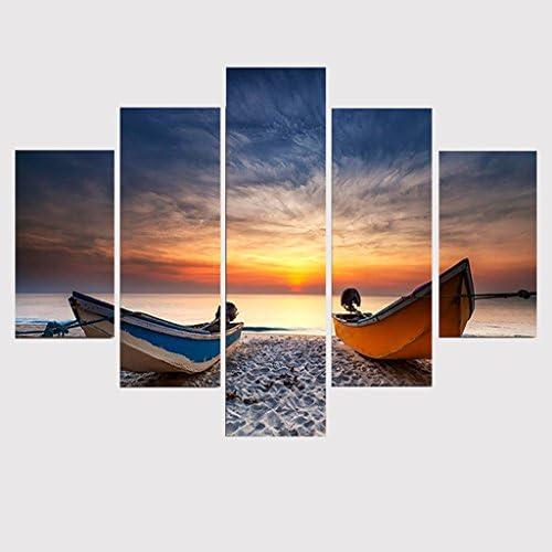 photo SUNRISE art Impression encadré-Voilier sur l/'océan horizon au coucher du soleil