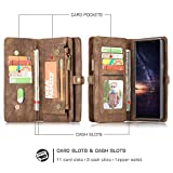 Galaxy Note 9 Wallet Case,SAVYOU Magnetic