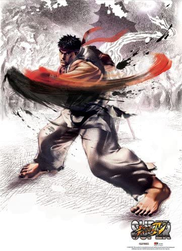 Amazon Com Great Eastern Entertainment Super Street Fighter Iv
