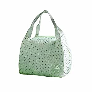 7e314ef90314 Amazon.com : KFSO Lunch Bag Clearance Sale! Square Cherry Dot ...