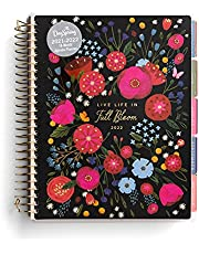 Live Life in Full Bloom 18-Month Floral Agenda Planner (July 2021 – December 2022)