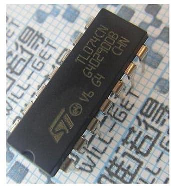 shinebear 20pcs TL074 tl074cn IC Op Amp Quad jfet DIP-14 ...