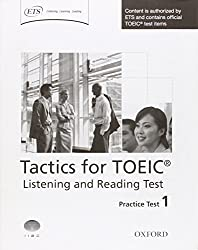 Tactics for TOEIC® Listening and Reading Test: Practice Test 1: Authorized by ETS, this course will help develop the necessary skills to do well in the TOEIC® Listening and Reading Test.