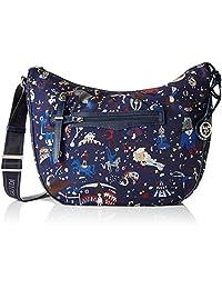 Piero Guidi Large shoulder bag Magic Circus Nylon - blue