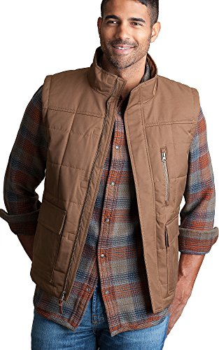 Overland Sheepskin Co Foothills Insulated Waterproof (Poly Fill Quilted Vest)