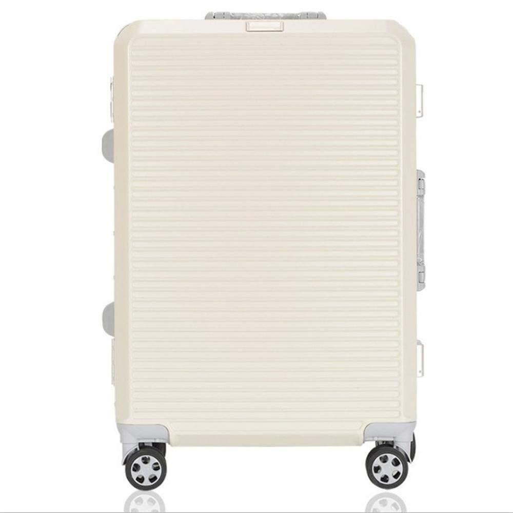 f43a6ddd94ec Amazon.com: Daeou Hand Luggage suitcases Aluminum Frame Trolley Box ...