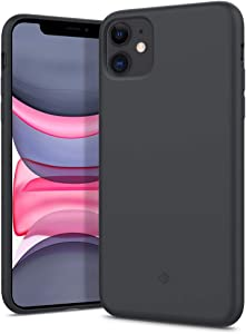 Caseology Nano Pop Silicone Case for Apple iPhone 11 Case (2019) - Charcoal