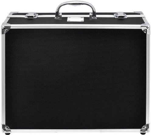 Xit XTHC20 13 x 10.25 x 5.125 Inches Small Hard Photographic Equipment Case with Carrying Handle (Black)