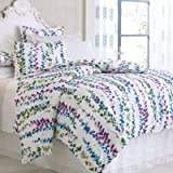 Company C Ophelia Duvet Cover, King, White